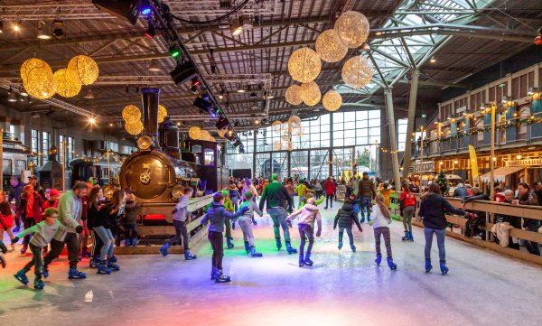 Spoorwegmuseum Utrecht, Winter Markt, evenement, fotografie, reportage