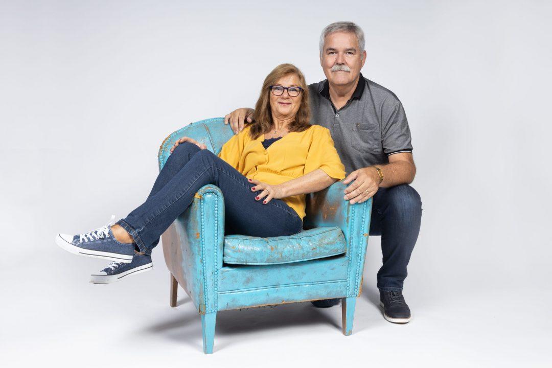 fotoshoot, studio, portret, fotograaf, echtpaar, gezinsfoto