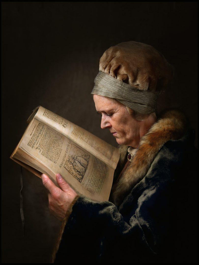 Rembrandt portret, studioportret, portretfoto in Rembrandt stijl