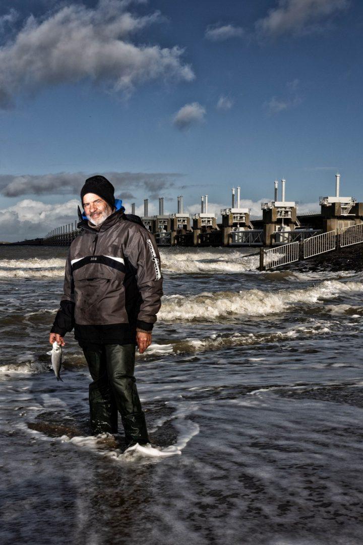 portret, Kamperland, oosterscheldekering, portretfotograaf, stoere visser
