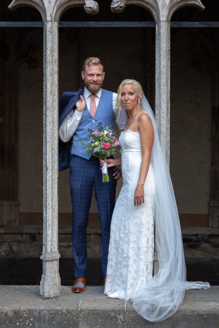 Pandhof Domkerk, trouwreportage, huwelijksfoto, officiële foto, bruidsfoto, fotograaf
