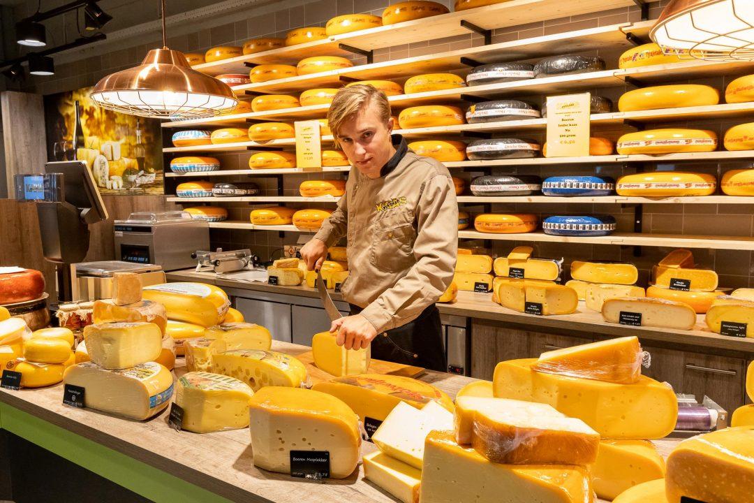 bedrijfsfotografie - bedrijfsreportage - kaaswinkel aan het Rond in Houten